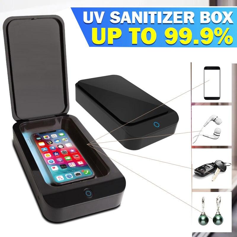 UV Phone Sterilizer Box Mask Phones Cleaner