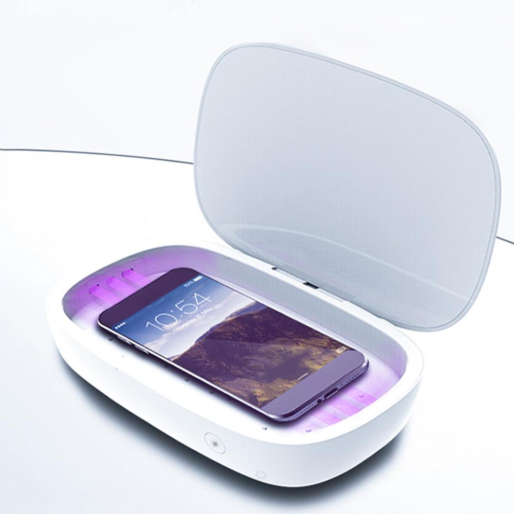 UV box Portable Ultraviolet Case Wireless Charger Mobile Phone