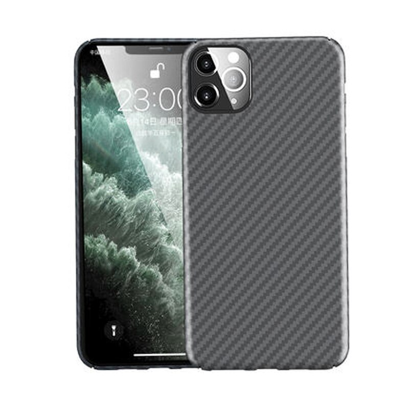 iphone 12 Carbon Fiber Case Ultrathin Anti-fall Protective Cover Case