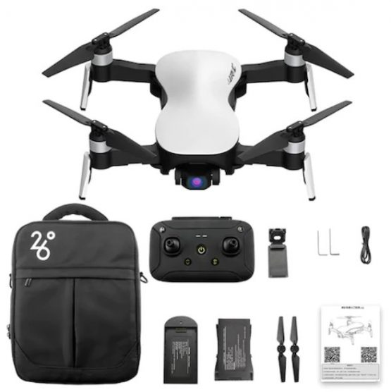 5G 4K Smart Control HD Camera 3-axis Gimbal Foldable RC Drone JJRC X12