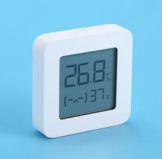 Household Thermometer Hygrometer Second Generation Wireless Smart Electric Digital Display Intelligent Linkage Baby Mode Work with Mijia APP