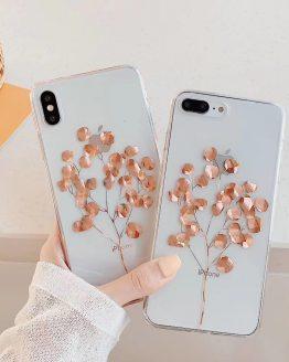 iPhone 12 Mini 8 7 Plus X XS Max Luxury Glitter Transparent Case