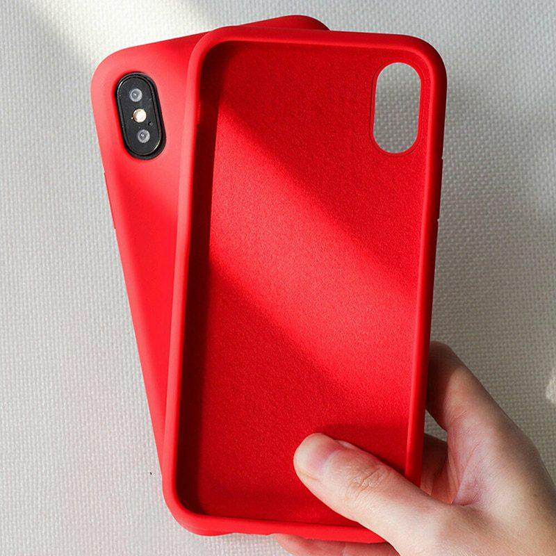 Silicone Cover iPhone 11 12 Pro Max
