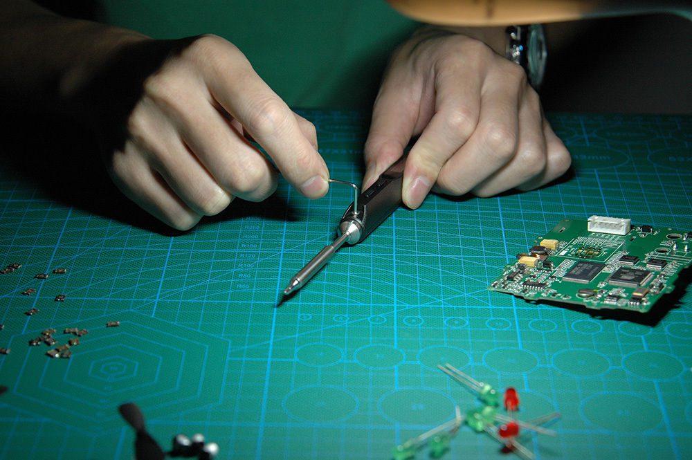 Mini Electric Soldering Iron Station Kit Digital
