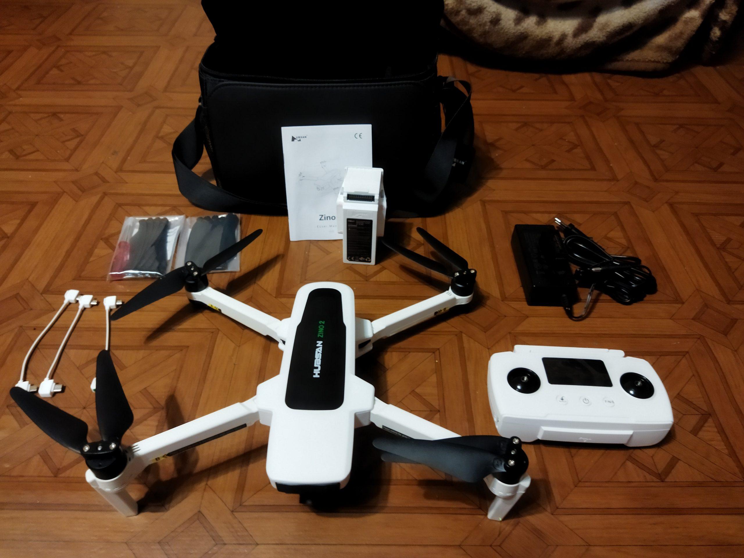 Hubsan Zino 2 LEAS 2.0 Drone GPS 8KM 5G